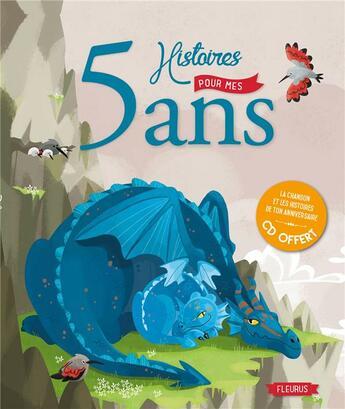 Couverture du livre « 5 histoires pour mes 5 ans » de Collectif aux éditions Fleurus