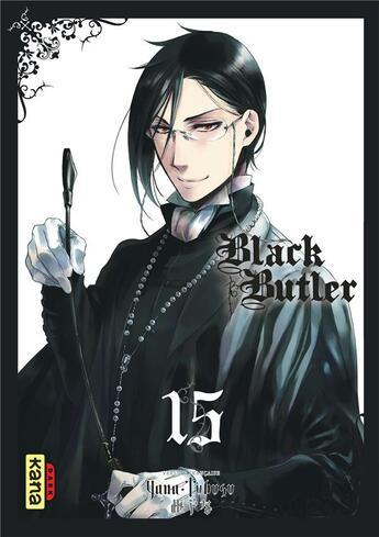 Couverture du livre « Black butler T.15 » de Yana Toboso aux éditions Kana