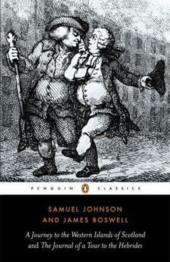 Couverture du livre « A Journey to the Western Islands of Scotland and the Journal of a Tour » de Samuel Johnson aux éditions Penguin Books Ltd Digital