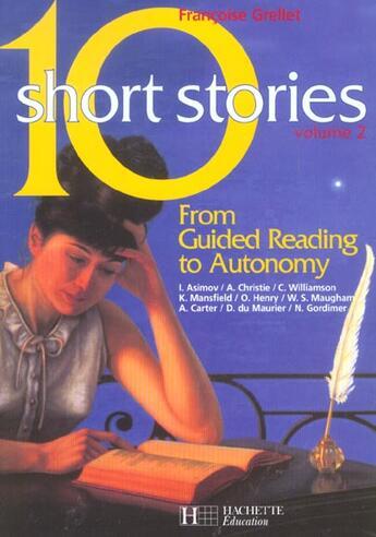 Couverture du livre « 10 Short Stories Volume 2 - Anglais - Livre De L'Eleve - Edition 2003 » de Grellet-F aux éditions Hachette Education