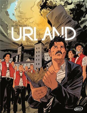 Couverture du livre « Urland » de Daniel Koller aux éditions Perspectivesart9