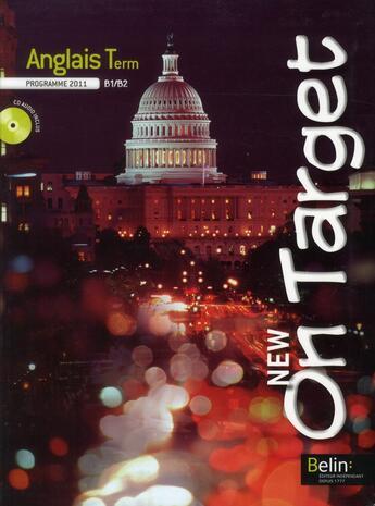 Couverture du livre « Anglais ; terminale ; livre de l'élève » de Collectif aux éditions Belin