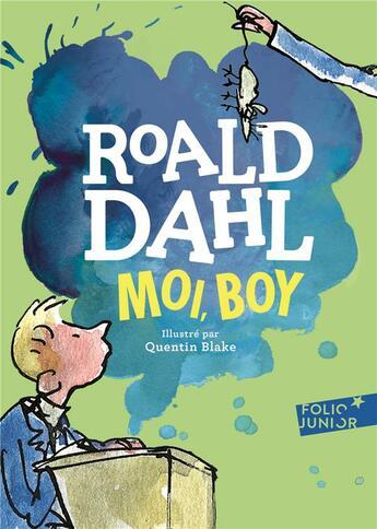 Couverture du livre « Moi, boy (édition 2017) » de Roald Dahl aux éditions Gallimard-jeunesse