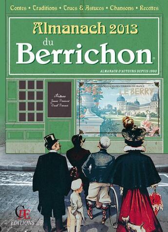 Couverture du livre « Almanach Du Berrichon 2013 » de Collectif aux éditions Communication Presse Edition