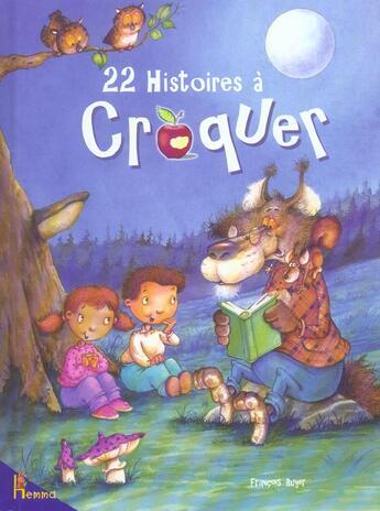 Couverture du livre « 22 Histoires A Croquer » de Francois Ruyer aux éditions Hemma