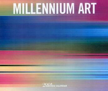 Couverture du livre « Calendrier millennium art 2001 » de Collectif aux éditions Taschen