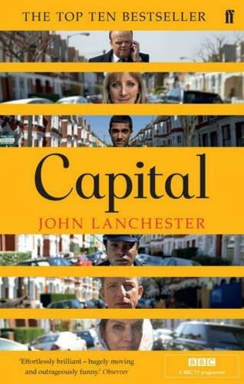 Couverture du livre « CAPITAL - FILM TIE IN » de John Lanchester aux éditions Faber Et Faber