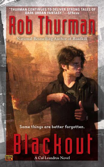 Couverture du livre « Blackout » de Rob Thurman aux éditions Penguin Group Us