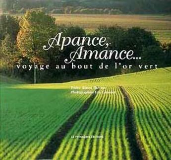 Couverture du livre « Apance, Amance » de Bruno Theveny et Eric Girardot aux éditions Le Pythagore