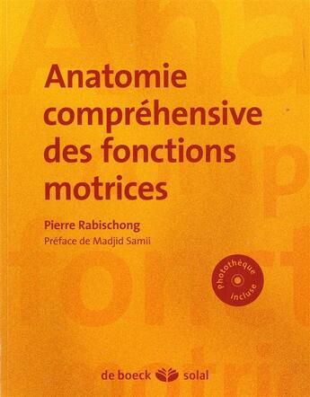 Couverture du livre « Anatomie fonctionnelle » de Pierre Rabischong aux éditions Solal