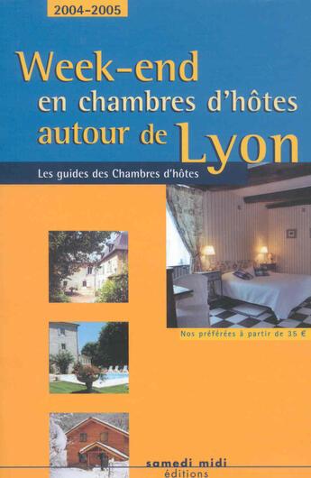 Couverture du livre « *W.E C.Hotes Aut.Lyon (130km)* » de  aux éditions Samedi Midi