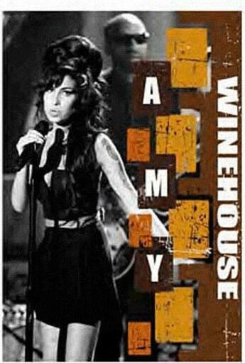Couverture du livre « Amy Winehouse » de Philippe Margotin aux éditions Etoiles