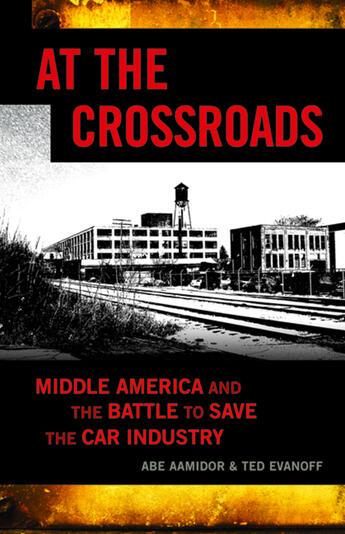 Couverture du livre « At the Crossroads » de Abe Aamidor et Abe Aamidor And Ted Evanoff et Jeff Rybak et Ted Evanoff aux éditions Ecw Press