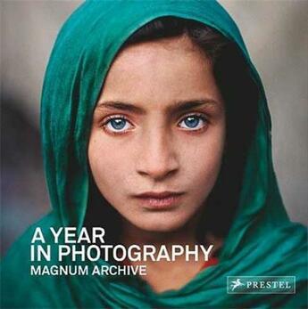 Couverture du livre « A year in photography magnum archive (compact ed.) » de Magnum Photos aux éditions Prestel