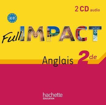 Couverture du livre « 2nde ; cd audio » de Martinez et Lallement aux éditions Hachette Education