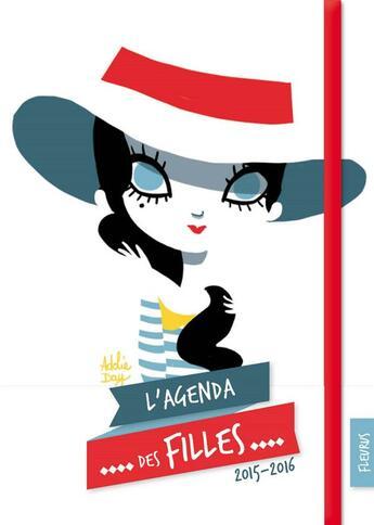 Couverture du livre « L'agenda des filles 2015/2016 » de Collectif aux éditions Fleurus
