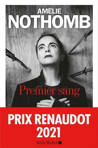 Couverture du livre « Premier sang » de Amélie Nothomb aux éditions Albin Michel