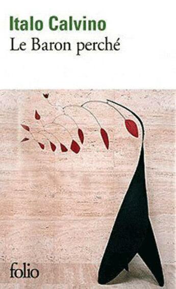 Couverture du livre « Le baron perché » de Italo Calvino aux éditions Gallimard