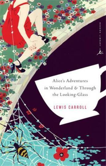Couverture du livre « Alice's adventures in Wonderland ; through the looking-glass » de Lewis Carroll aux éditions Random House Us