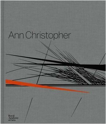 Couverture du livre « Ann Christopher /Anglais » de Cork Richard aux éditions Royal Academy