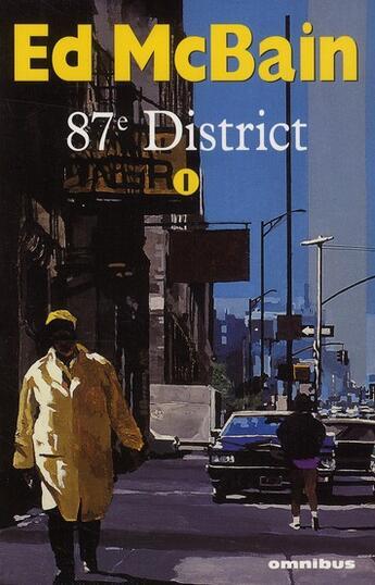 Couverture du livre « 87e district t.1 » de Ed Mcbain aux éditions Omnibus