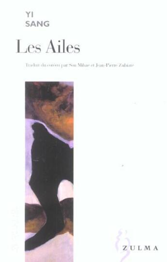 Couverture du livre « Ailes (Les) » de Yi Sang aux éditions Zulma