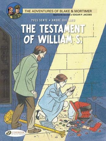 Couverture du livre « Blake et Mortimer T.24 ; the testament of William S. » de Andre Juillard et Yves Sente aux éditions Cinebook