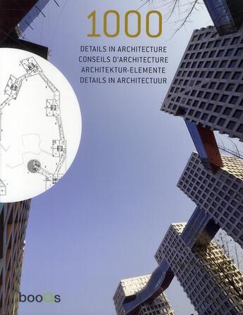 Couverture du livre « 1000 conseils d'architecture » de Alex Sanchez Vidiella aux éditions Tectum