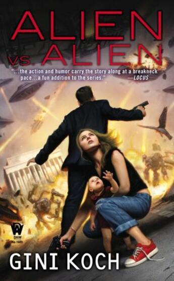 Couverture du livre « Alien vs. Alien » de Koch Gini aux éditions Penguin Group Us