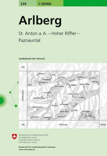 Couverture du livre « Arlberg » de  aux éditions Ofts
