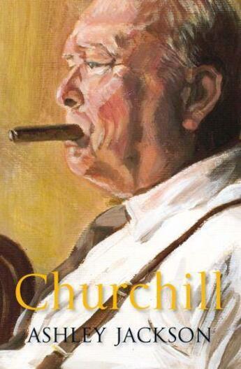 Couverture du livre « Churchill » de Jackson Ashley aux éditions Quercus Publishing Digital
