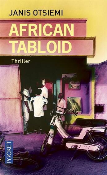 Couverture du livre « African tabloid » de Janis Otsiemi aux éditions Pocket