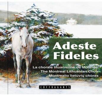 Couverture du livre « Adeste Fideles » de Collectif aux éditions Stanke Alexandre
