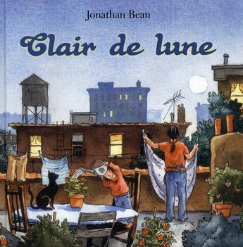 Couverture du livre « Clair de Lune » de Jonathan Bean aux éditions Circonflexe