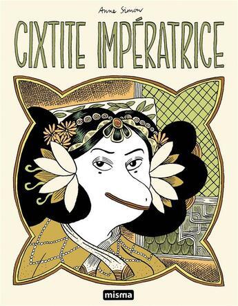 Couverture du livre « Cixtite impératrice » de Anne Simon aux éditions Misma