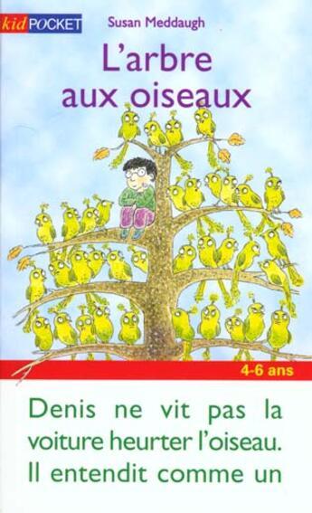 Couverture du livre « Arbre Aux Oiseaux » de Susan Meddaugh aux éditions Pocket Jeunesse