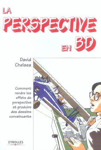 Couverture du livre « La perspective en BD » de David Chelsea aux éditions Eyrolles