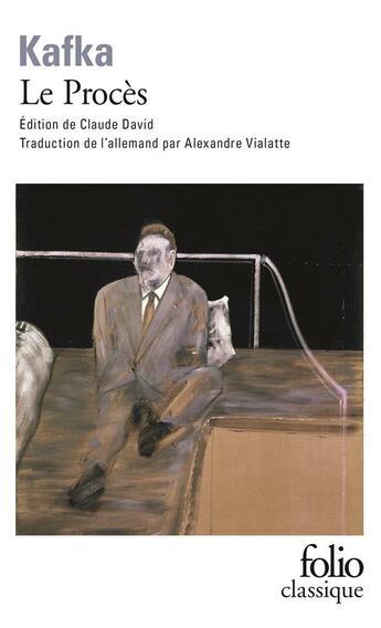 Couverture du livre « Le procès » de Franz Kafka aux éditions Gallimard