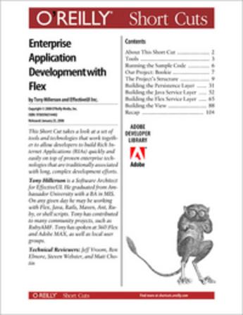 Couverture du livre « Agile Enterprise Application Development with Flex » de The Effectiveui Team aux éditions O'reilly Media