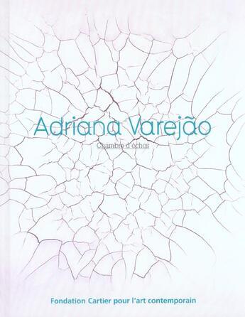 Couverture du livre « Adriana varejao » de Philippe Sollers aux éditions Fondation Cartier