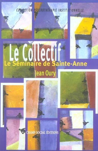 Couverture du livre « Collectif (le) » de  aux éditions Matrice