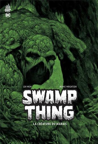 Couverture du livre « Swamp Thing, la créature du marais » de Bernie Wrightson et Len Wein aux éditions Urban Comics