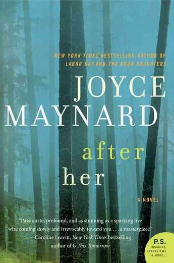 Couverture du livre « After her » de Joyce Maynard aux éditions