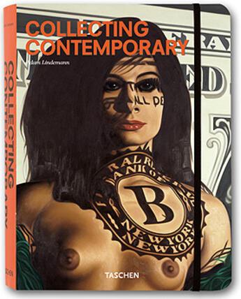 Couverture du livre « Collecting contemporary » de Lindeman Adam aux éditions Taschen