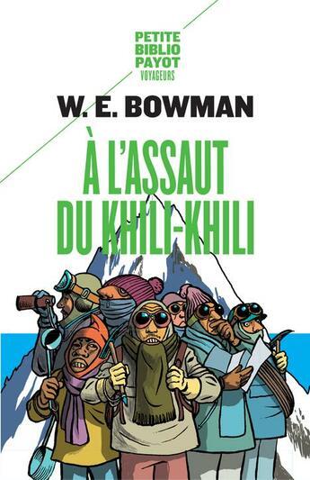 Couverture du livre « à l'assaut du Khili-Khili » de William E. Bowman aux éditions Rivages