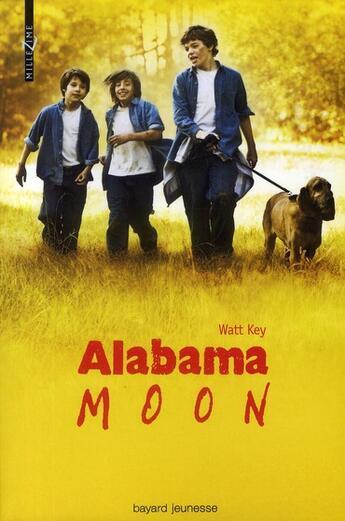 Couverture du livre « Alabama moon » de Watt Key aux éditions Bayard Jeunesse