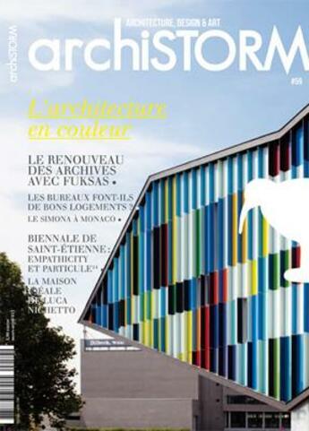 Couverture du livre « Archistorm l'archi. en couleur - arci59 » de Collectif aux éditions Archistorm