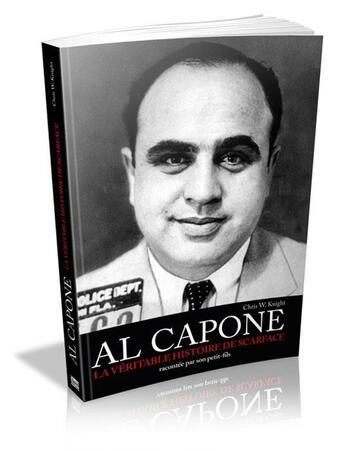 Couverture du livre « Al capone » de Chris K. Knight aux éditions Music And Entertainment