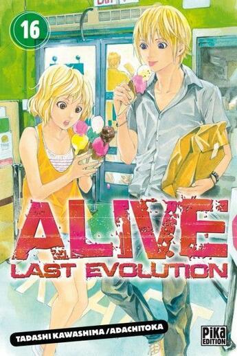 Couverture du livre « Alive, last evolution t.16 » de Tadashi Kawashima et Adachitoka aux éditions Pika