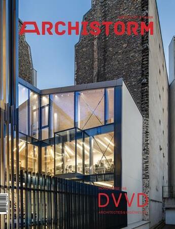 Couverture du livre « Archistorm hs : dvvd architectes & ingenieurs » de Collectif aux éditions Archistorm